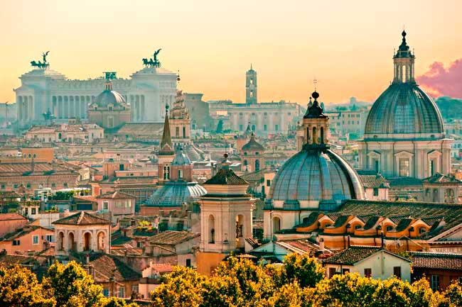 Rome Airport is located in the town of Fiumicino, 35 km away from Rome city centre.